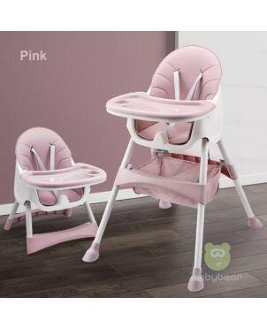 Portable Feeding chair - Pink