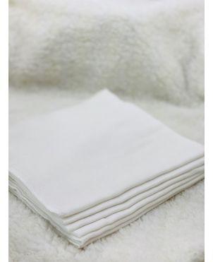 Nappy 18 X 18 (6Pc) White