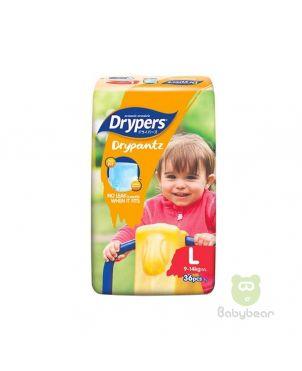 Drypers Classic Pantz L 36PC -Diapers
