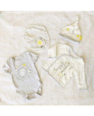 4 in 1 Baby Sleep Suit Set 0-6
