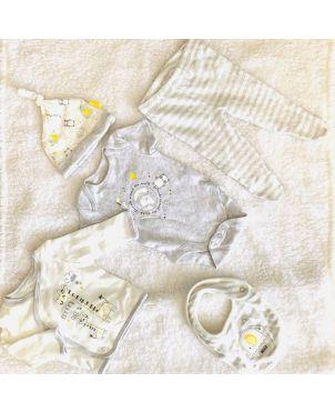5 in 1 Baby Sleep Suit Set 0-6
