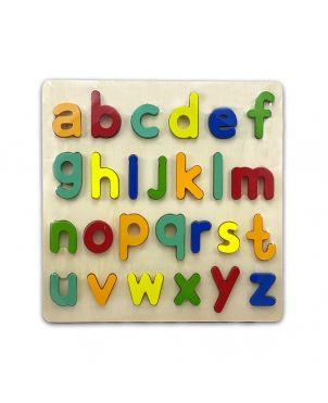 a-z simple letter alphabet