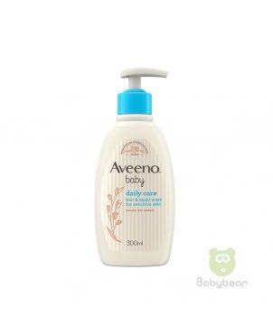 Aveeno Daily Care Hair & Body Wash for Sensitive Skin 300ML