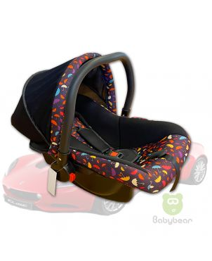 Baby Car Seat Carrier & Rocker- Umbrella Print