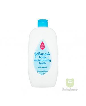 Johnsons Baby Moisturising Bath with Baby oil 500ml