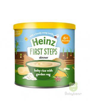 Heinz Tins - Baby rice with garden veg Baby Food