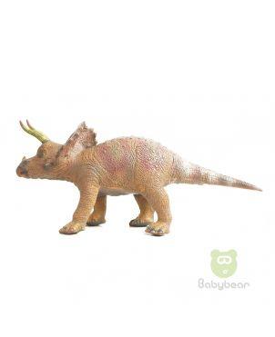 Soft Rubber Dinosaur Triceratops