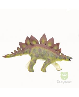 Soft Rubber Dinosaur Stegosaurus