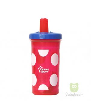 Tommee Tippee FreeFlow Super Sipper Red Polka Dots