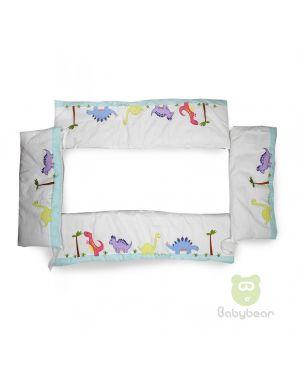 Baby Bear 4 piece Crib Bumper Set - Dinosaurs