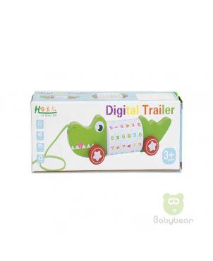 Digital Trailer Crocodile Toy