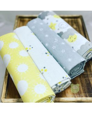Baby Blanket 4 Set -Sun