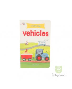 Lift the Flap Vehicles Book