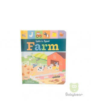Lots to Spot Farm Board Book