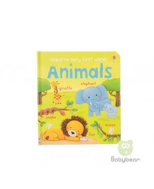 Usborne Very First Words Animals Board Book