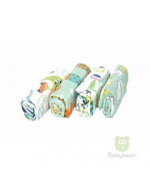 Babybear Blanket Set of 4 Greens