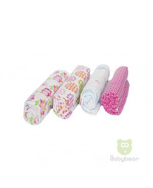 Babybear Blanket Set of 4 Purples