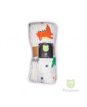 Babybear Muslin Blanket/Wrap Dinos