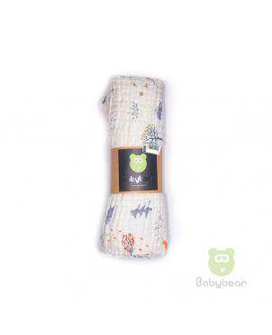 Babybear Muslin Blanket/Wrap Park