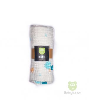 Babybear Muslin Blanket/Wrap Elephant