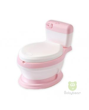 Baby Commode Potty Trainer - Pink