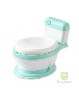Baby Commode Potty Trainer - Green