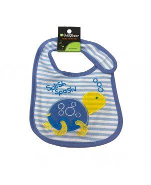 Baby Bib - Tortoise