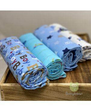 Baby Blanket 4 Set -Babyboy