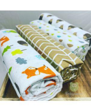Baby Blanket 4 Set -Fox