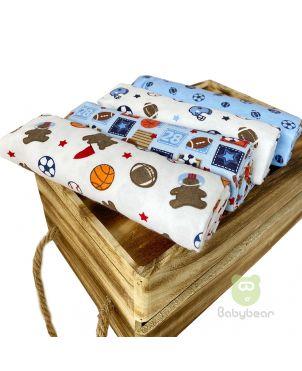 Babybear Blanket Set of 4 - Sports