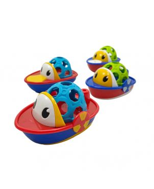 Ring Boat Bath Toy & Rattle