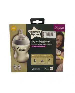 Baby Feeding Bottle Tommeetippee 2 Pack