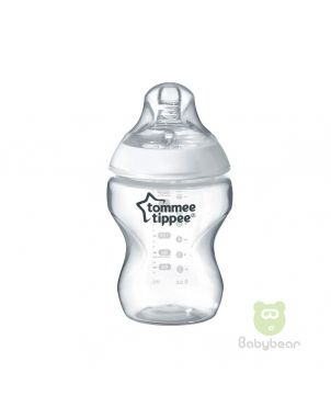 TommeeTippee Closer to Nature Baby Milk Bottle 260ml Anti-colic