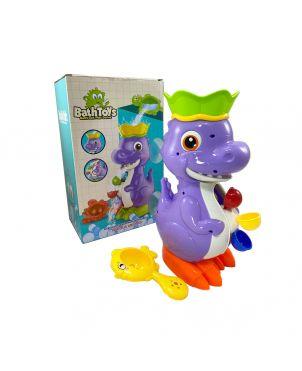 Dragon Bath Toy - Purple