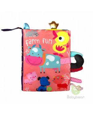Cloth Book Farm Fun