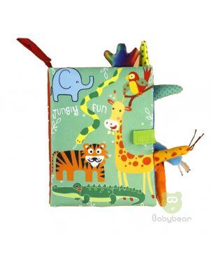 Cloth Book Jungle Fun