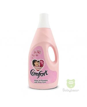 Comfort Fabric Softener - Pink 2L XL Kiss of Flowers with Rose Fresh