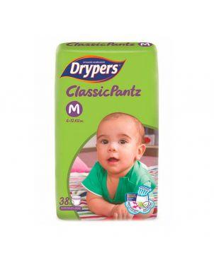 Drypers Classic Pantz M 38Pc -Diapers