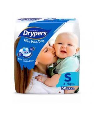 Drypers S 58Pc - Diapers