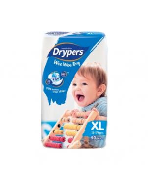 Drypers XL 50Pc - Diapers