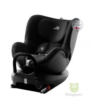 Britax Romer DUALFIX 360 (Black) Made in UK Baby Car Seat