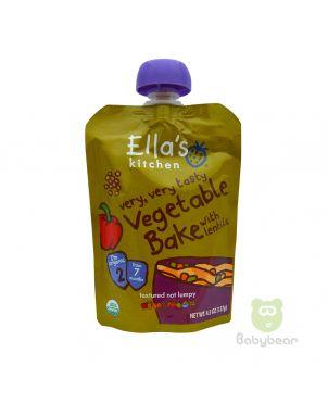 Ellas Kitchen - Vegetable + Lentil Bake Baby Food