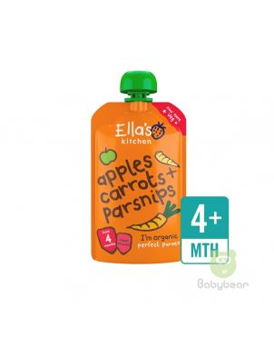 Ellas Kitchen Apples Carrots Parsnips