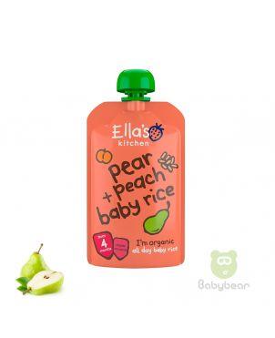 Ellas Kitchen Pear Peach Baby Rice
