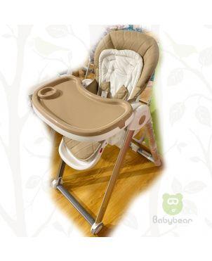 Beige Premium Feeding Chair
