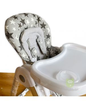Grey Star Feeding Chair