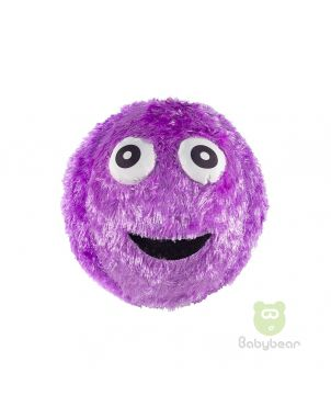 Fuzzy Monster Inflatable Ball Purple