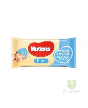 Huggies Pure Baby Wipes 56