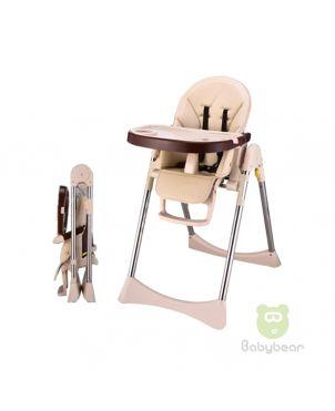 Ivol Brown Feeding Chair