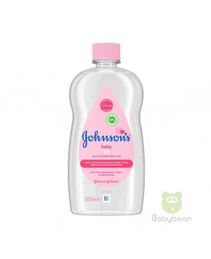 Johnsons Baby Oil 500ml (Made in Italy)